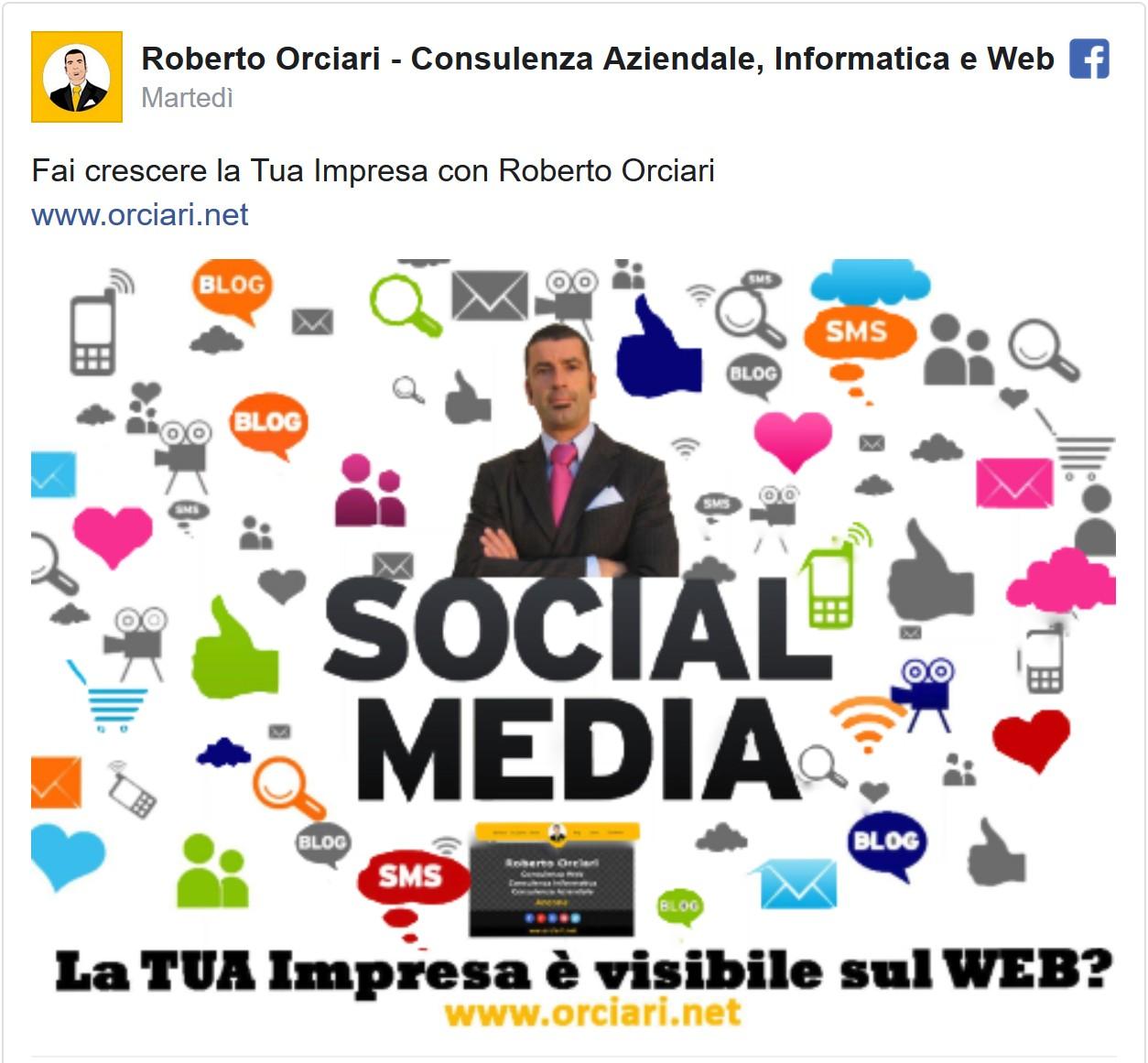 Fai crescere la tua impresa con Roberto Orciari