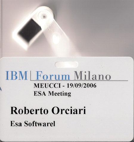 Evento alla IBM a Torino