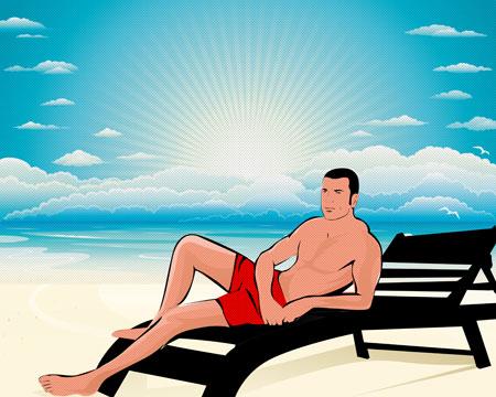 Roberto Orciari Lichtenstein Style