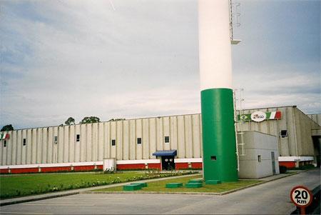 Informatizzazione Stabilimento ditta Uteco a Curitiba in Brasile